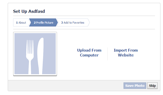 Setting up your Facebook profile image