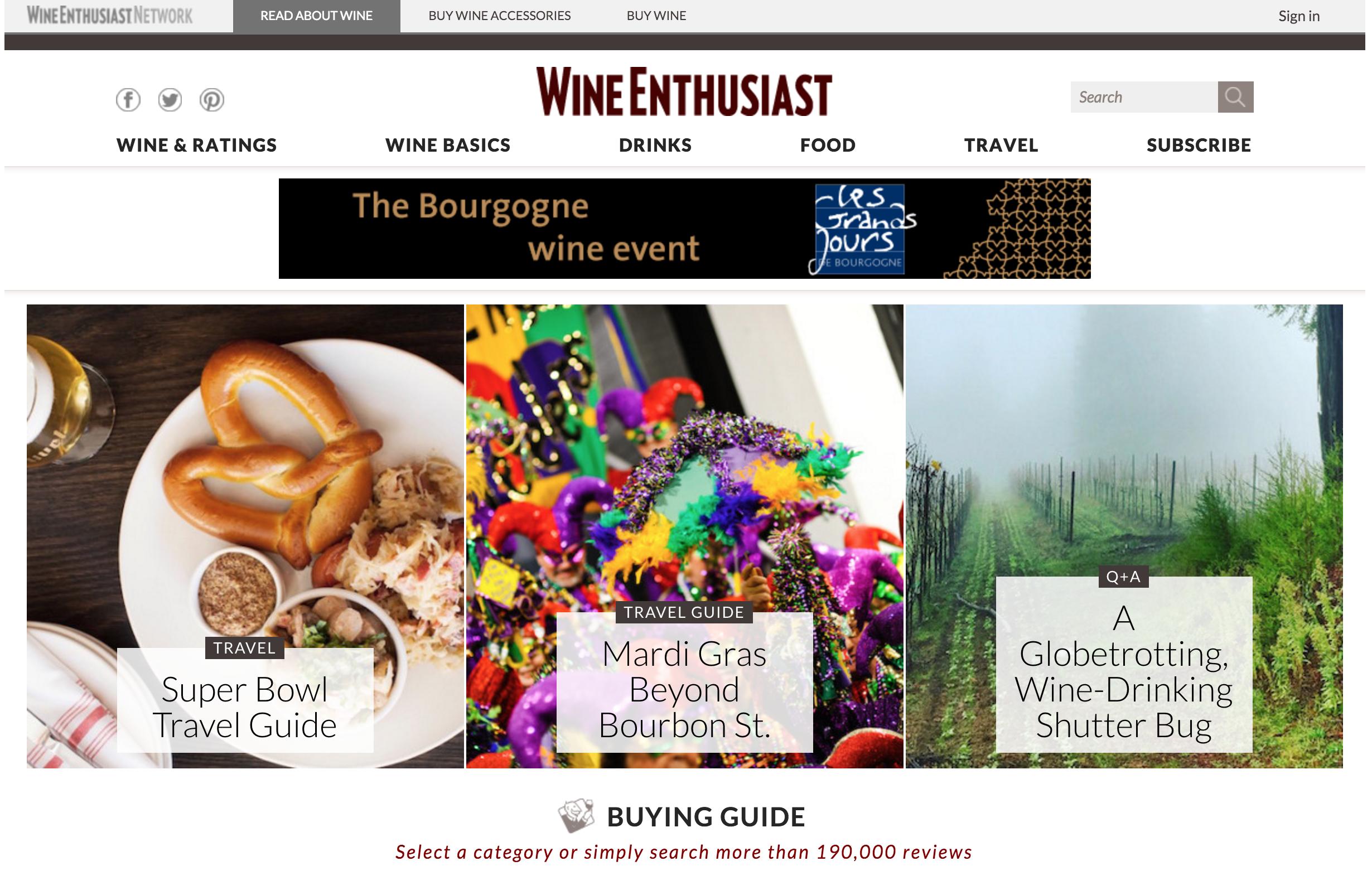 winemag screenshot