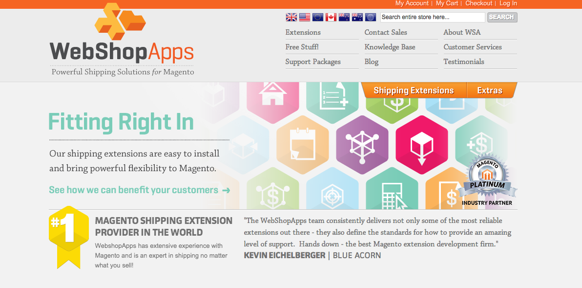 Web Shop Apps Magento Shipping Extensions