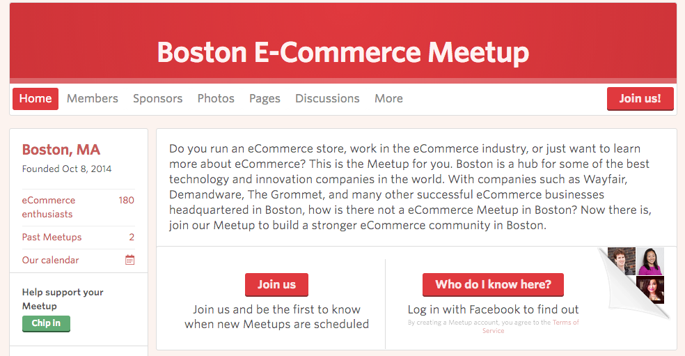Boston eCommerce Meetup