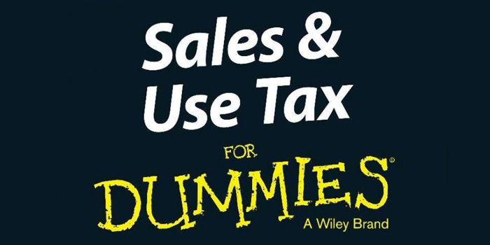 For Dummies Book Series Tackles Sales Tax