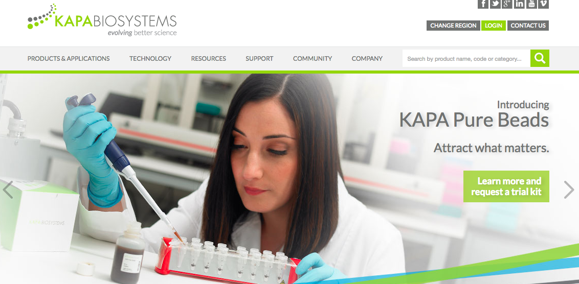 kapa biosystems homepage