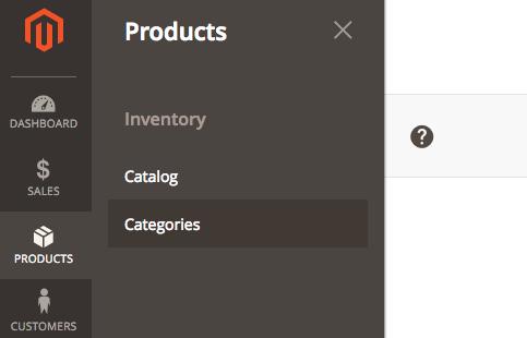 Magento 2 Categories