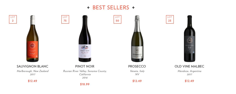 90 plus wines best seller