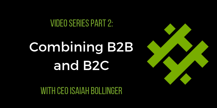 combining b2b and b2c