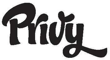 privy logo black